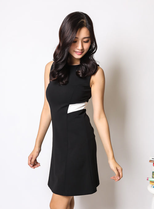 Charlotte Dress in Black (Reject)