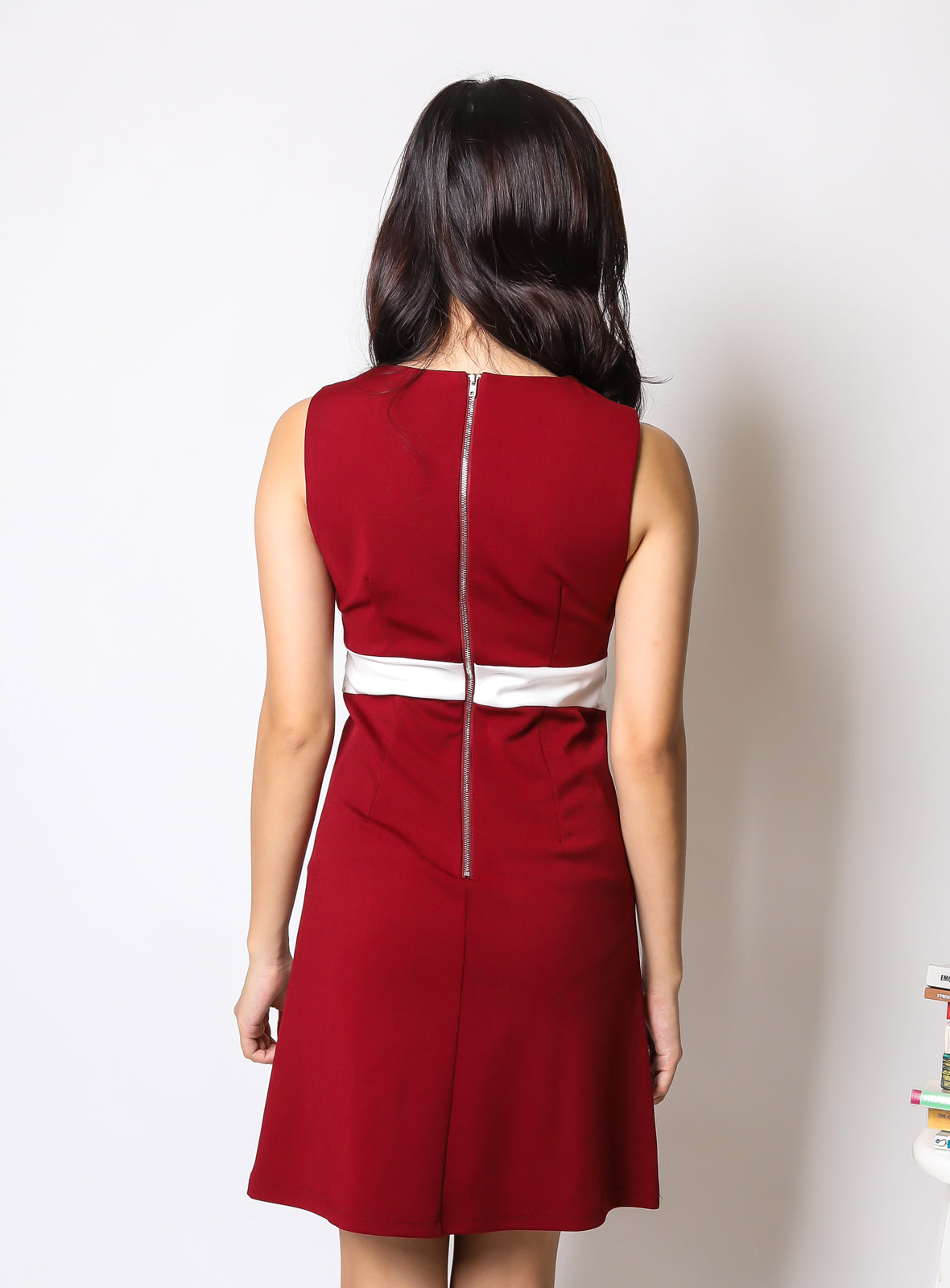 Charlotte Dress in Wine