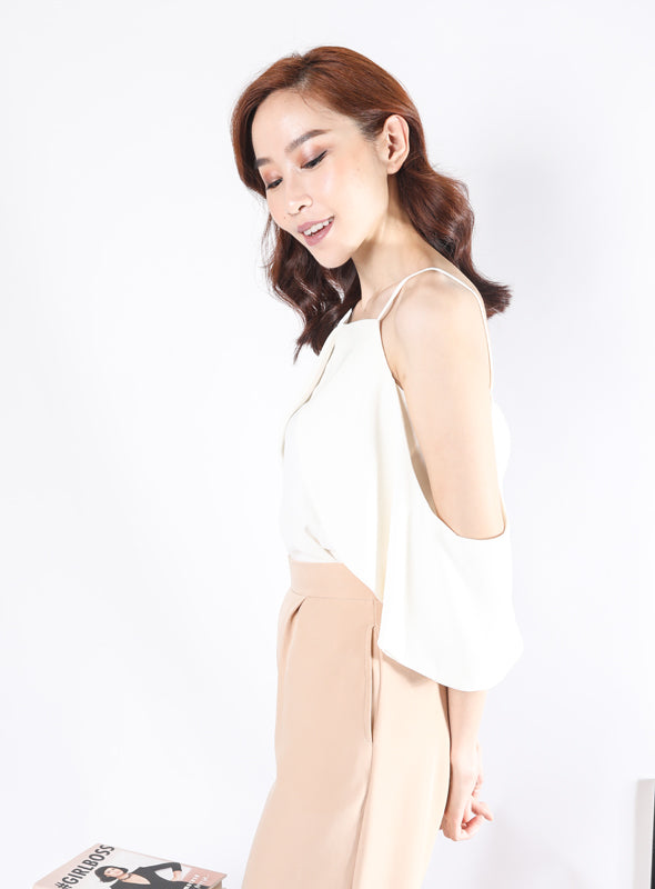 Cleo Top in White