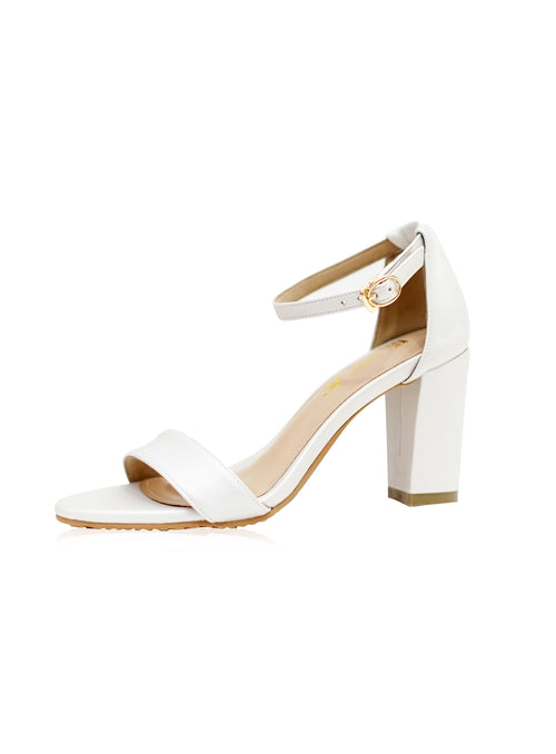 Jade Heels 2.0 in White