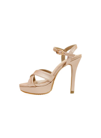 Saddie Mules in Blush