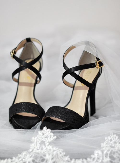 Bella Heels in Black