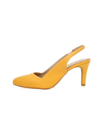 Alison Flats in Yellow Ribbon