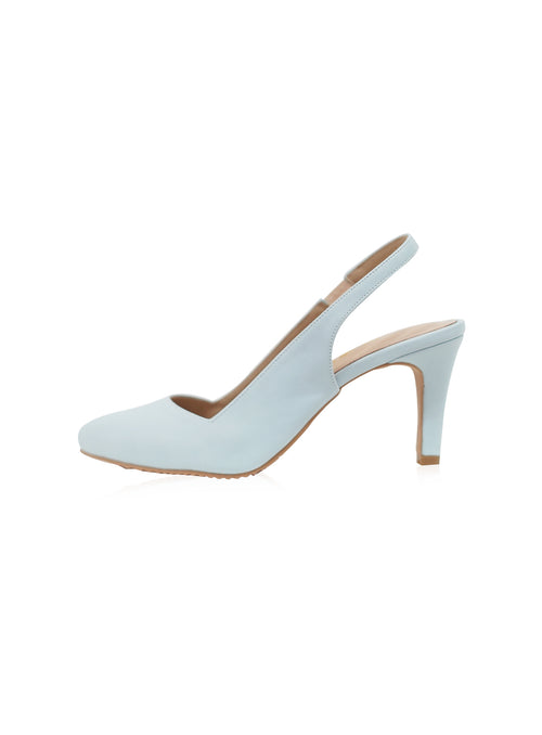 Daisy Heels in Baby Blue