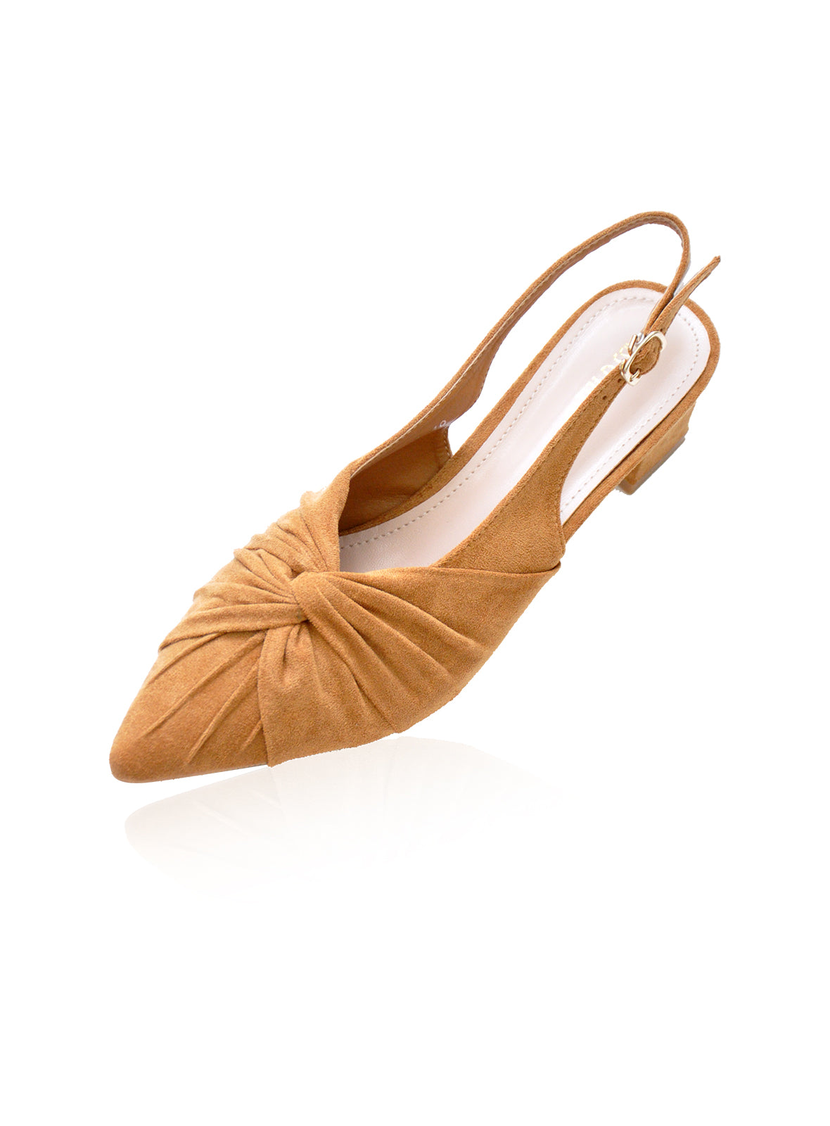 Delilah Heels in Toffee