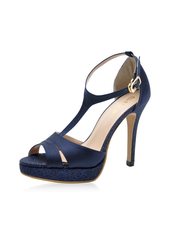 Diana Heels in Navy