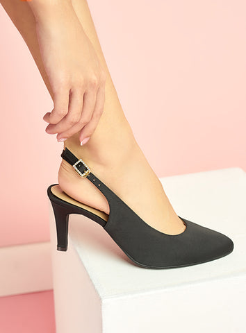 Piper Heels in Black