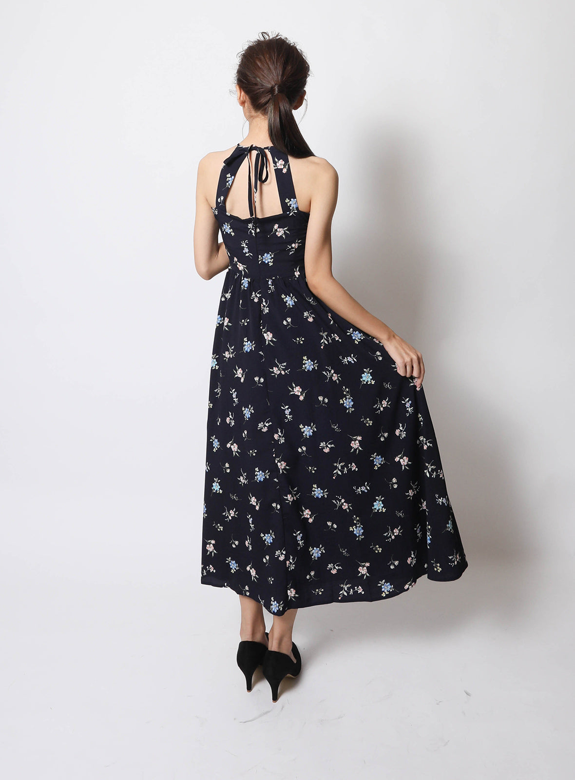 Ellie Maxi Dress in Navy