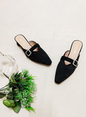 Emery Heels in Black