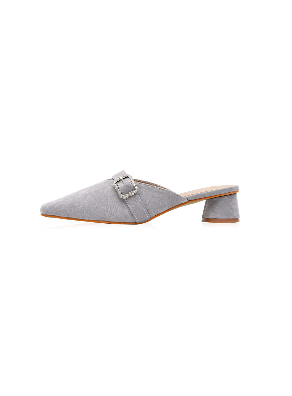 Emery Heels in Grey