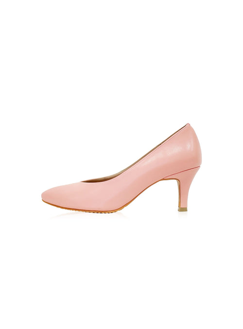 Finley Heels in Dusty Pink