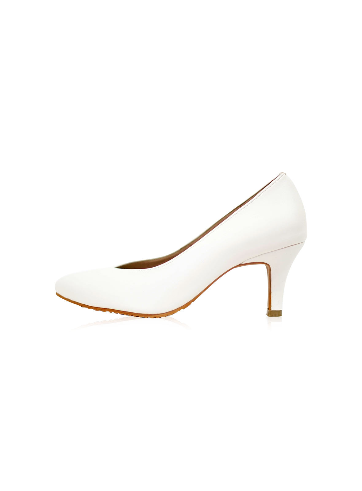 Finley Heels in White