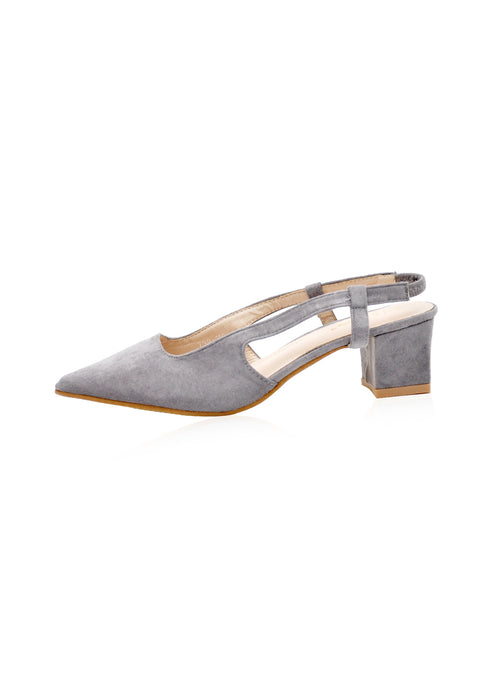 Grace Heels in Grey