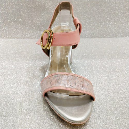 Lena Heels in Baby Pink (Reject)