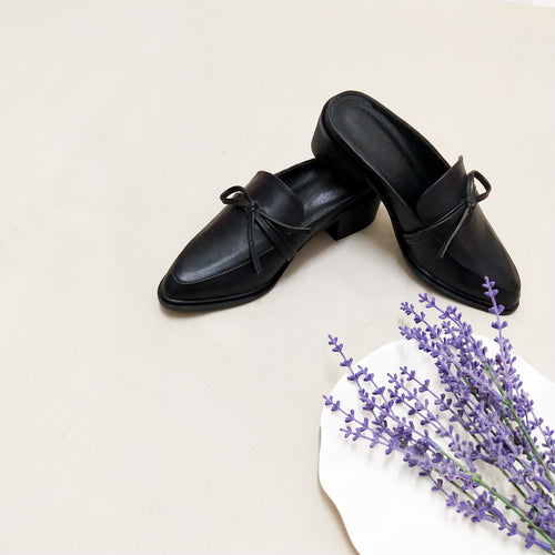 Colette Mules in Black