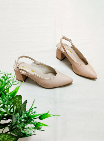 Alicia Sandals in Nude