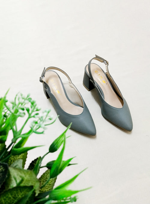 Riley Heels in Sage