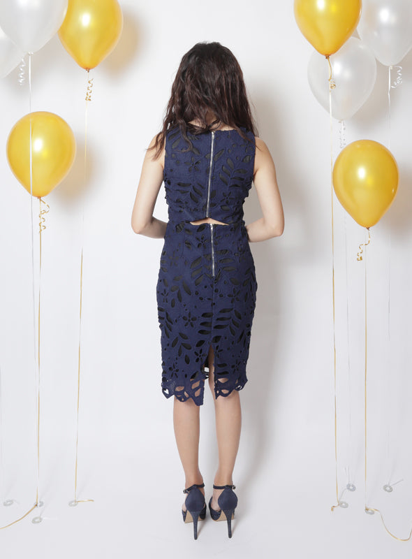 Jocelyn Dress in Navy
