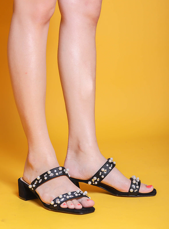 Joy Heels in Black