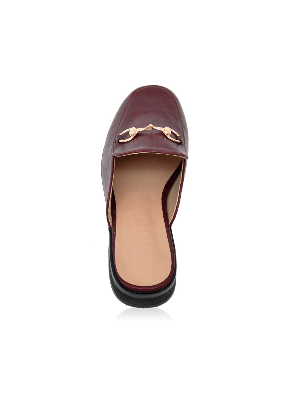 Julia Mules in Burgundy