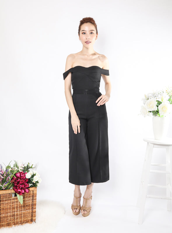 Milano Jumpsuit in Black