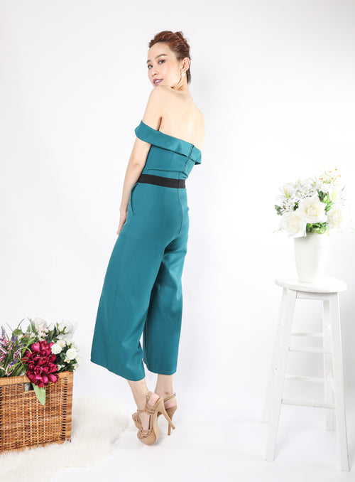 Milano Jumpsuit in Teal