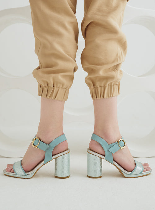 Lena Heels in Baby Blue (Reject)