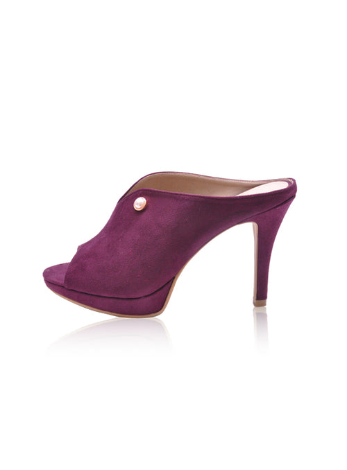 Kayla Heels in Purple