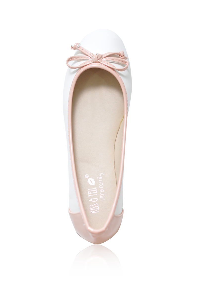 Kimmy Flats in Blush
