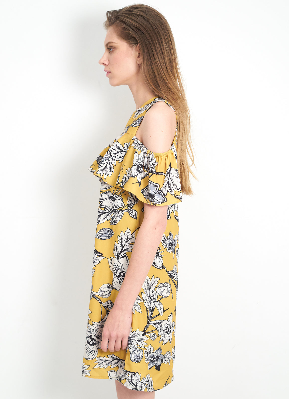 Terri Dress in Sunshine Yellow