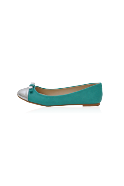 Kylie Flats in Green