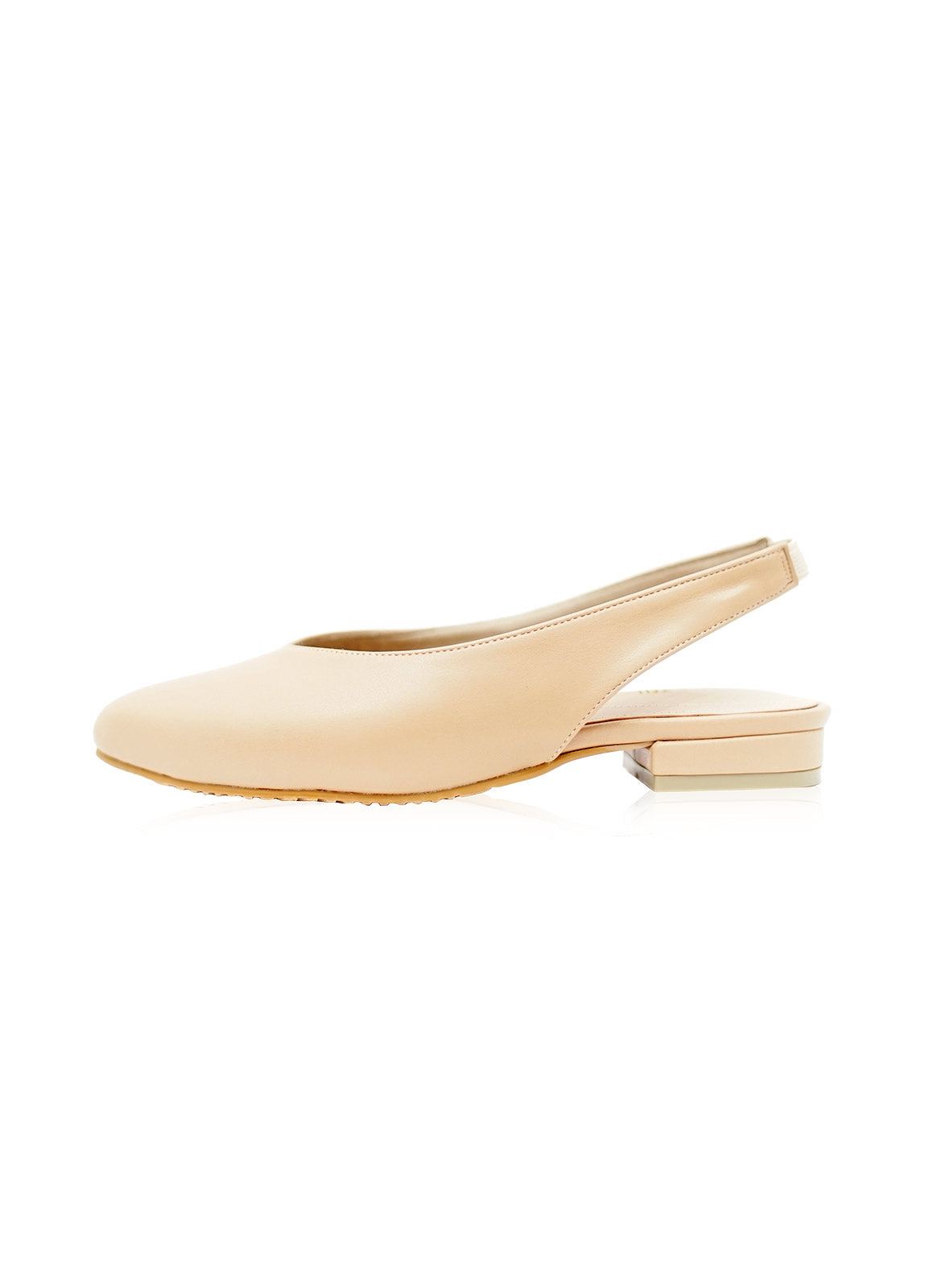 Layla Flats in Nude