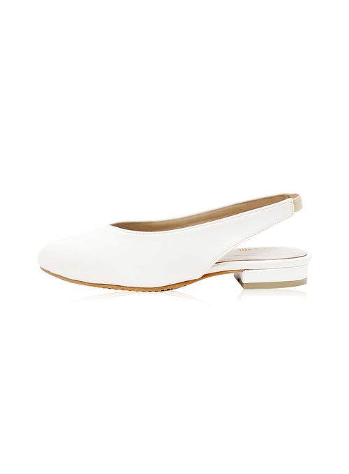 Layla Flats in White