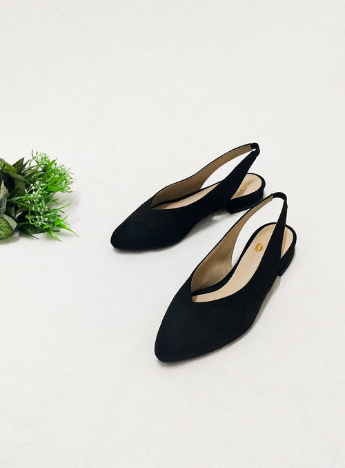 Layla Flats in Black