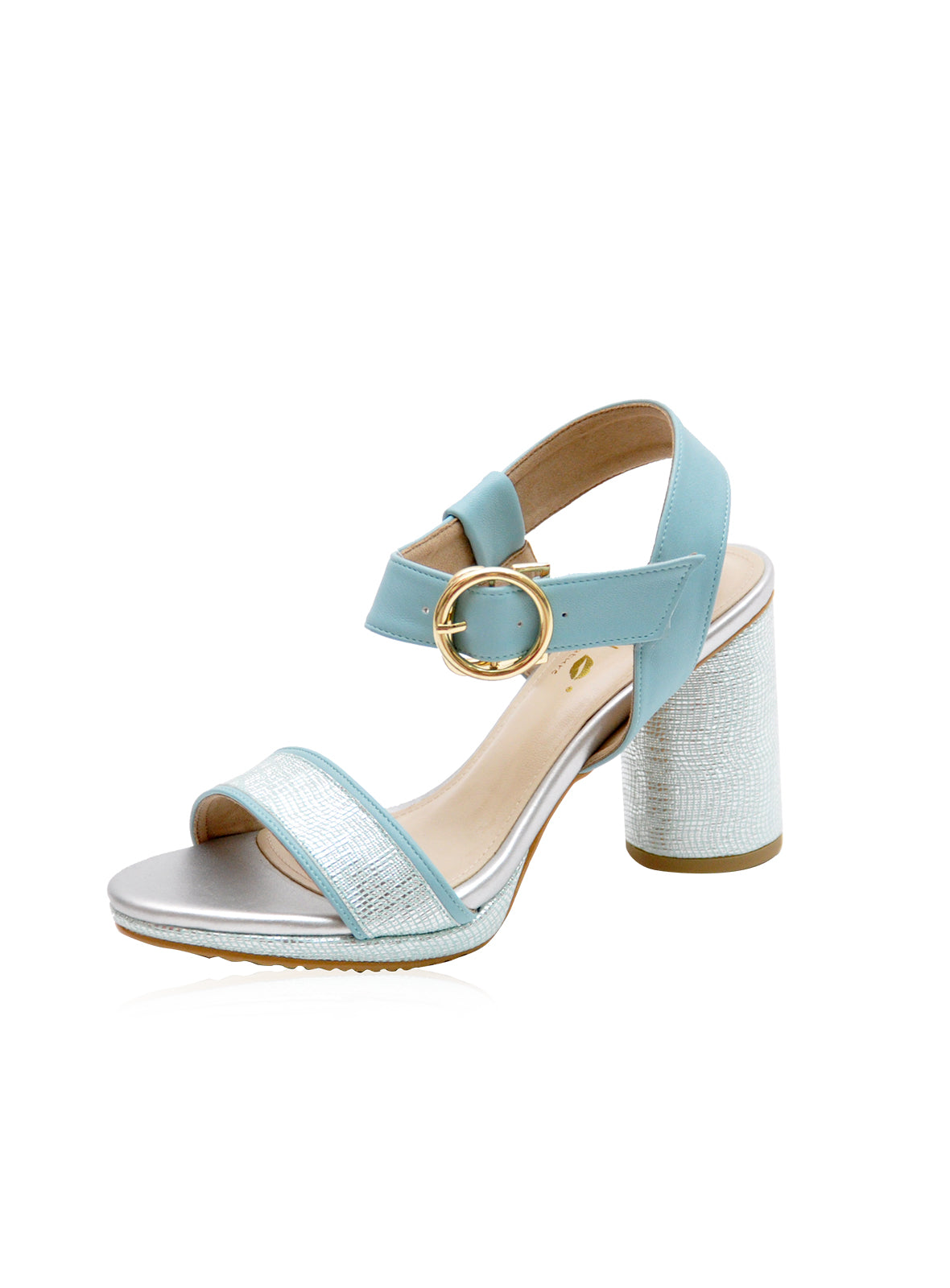 Lena Heels in Baby Blue