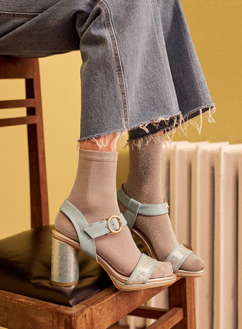 Claire Mules in Blush