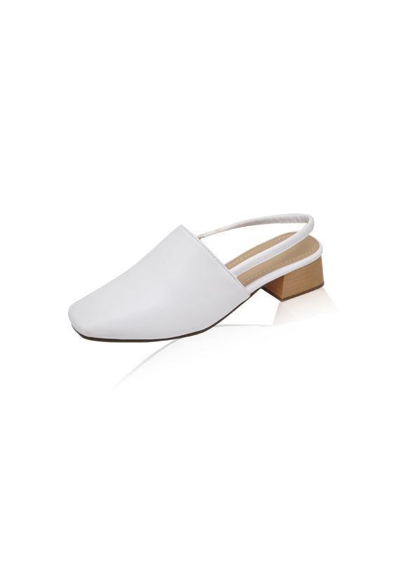 Liam Heels in White