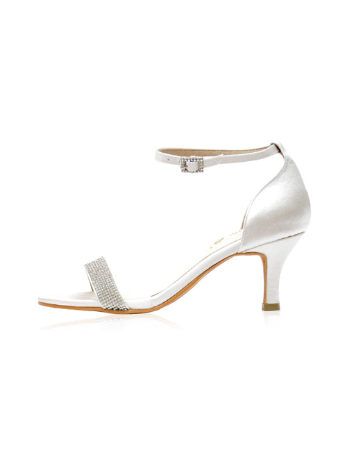 Lucia Heels in White
