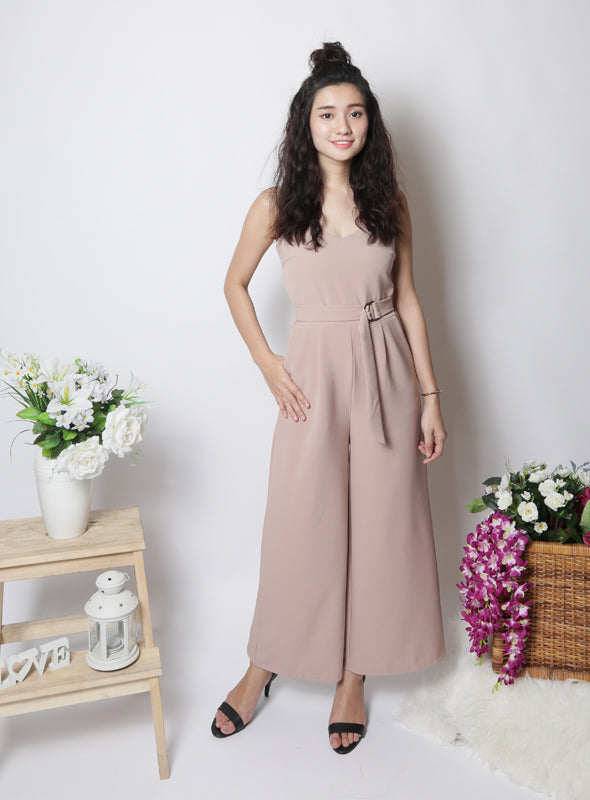 Lydia Jumpsuit in Blush