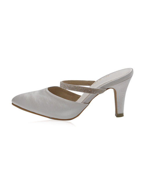 Lydia Heels in White