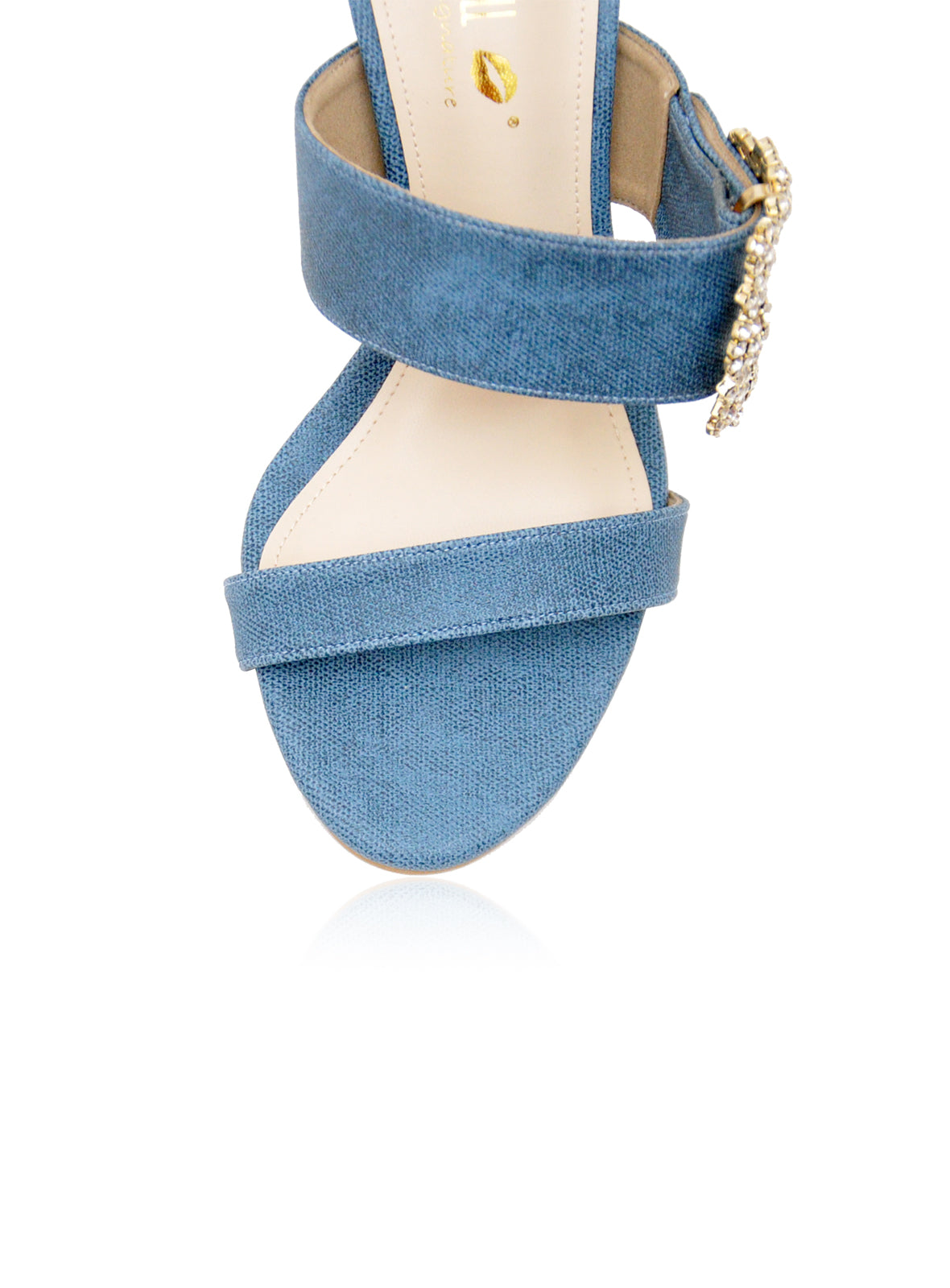 Madelyn Heels in Blue