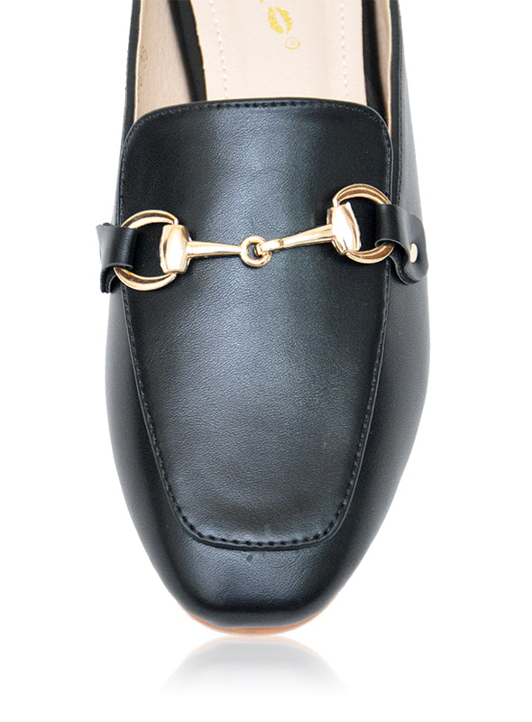 Mason Mules in Black