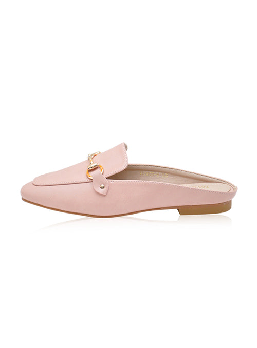 Mason Mules in Blush