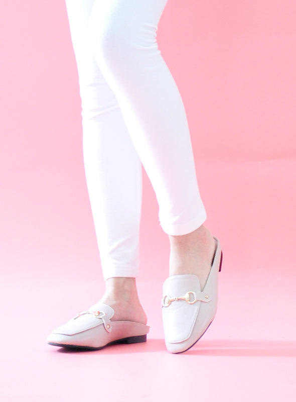 [Backorder] Mason Mules in Nude