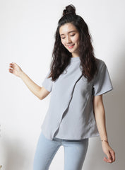 Maxwell Top in Grey