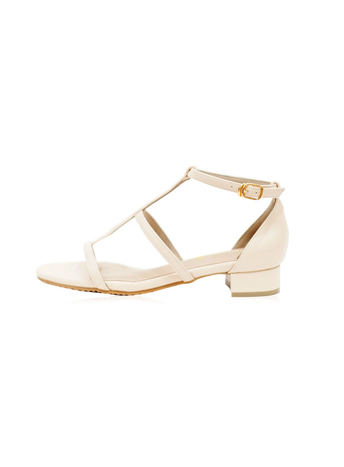 Nora Sandals in Beige