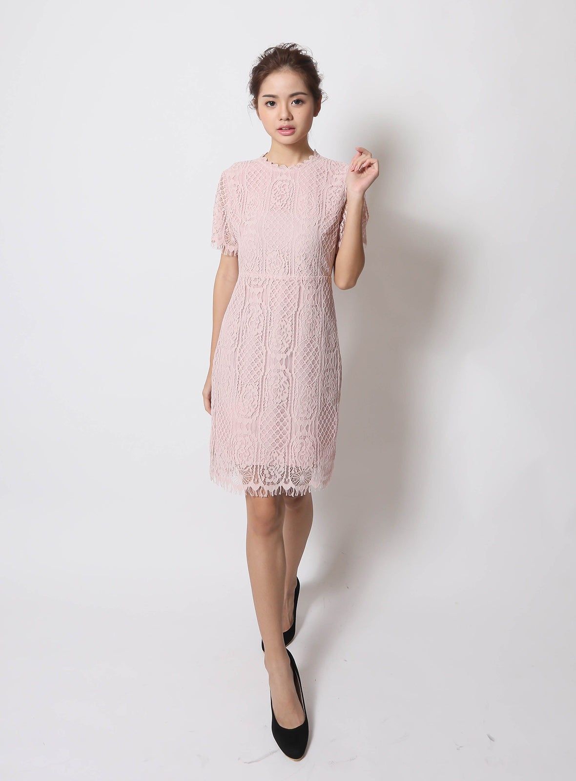 Piper Dress in Blush