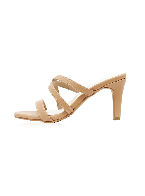 Piper Heels in Nude