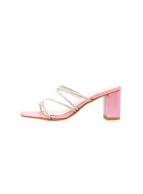 Raelynn Heels in Dusty Pink