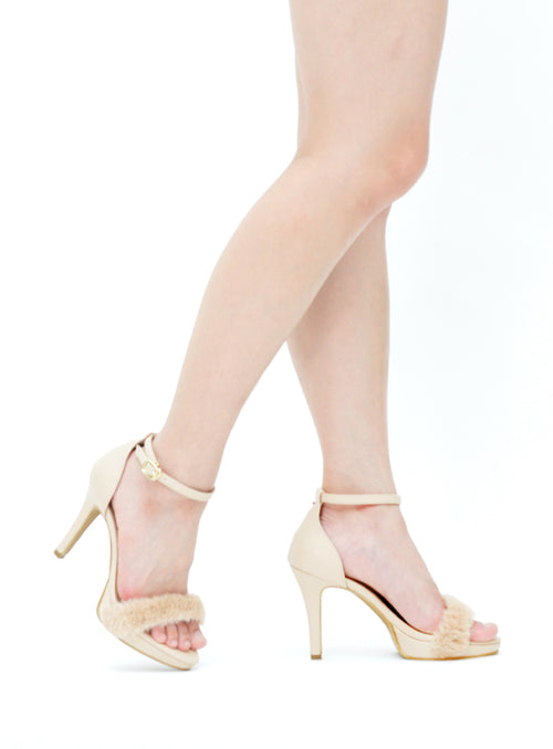 Riri Heels in Blush